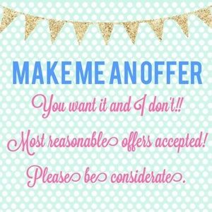 Other - Make me offers on my closet today!